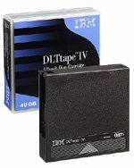 IBM  59H3040 -  DLT IV Tape Media, TK88,  40/80GB