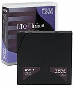 IBM LTO Cleaning Tape, IBM Media 08L9124,  50pass, LTO 1 drives only
