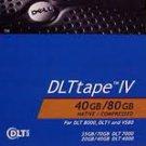 DELL 9W080 DLT IV 20/40/80GB Tape Media Data cartridge