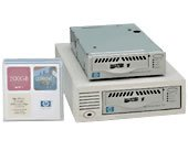 HP C7420A - LTO1, Ultrium 215, INT. Tape Drive, 100/200GB, HH, SureStore