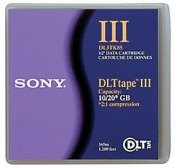 DLT III  10/20GB Tape Media Data Cartridge