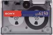Sony QD6150N, QIC 1/4 in. Data Cartridge, DC6150, 150MB, Tape Media