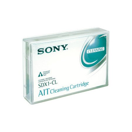 Sony SDX1-CL -  8mm, AIT AME, Cleaning Cartridge Tape, SDX1CL,  AIT-1/2/3/Turbo