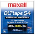 Maxell 184030 DLT S4  Data  Cartridge, 800GB/1.6TB Tape Media