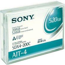 Sony SDX4-200C  AIT-4 200/520GB 8mm Data Cartridge