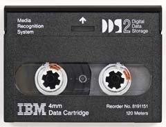 IBM  8191151 -  4mm, DDS-2 Data Cartridge, 120m, 4/8GB
