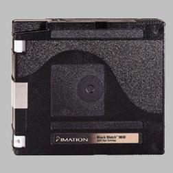 Imation 41024 - 1/2 Inch, 9840 Data Cartridge,  20GB,  B & W, L & I, 04/1