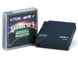 TDK LTO 3 Tape Media, D2406 Ultrium 3 400/800GB Data Cartridge