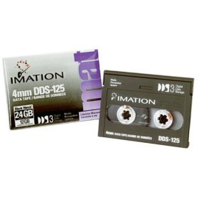 DDS-3  125m 12/24GB 4mm Tape Media