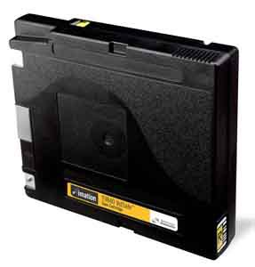 Imation 91833 - 1/2 Inch, 9840 Volsafe Data Cartridge, B & W, 20/40GB, Color Barcode Labled 03