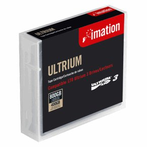 Imation 17532 LTO-3 Data Cartridge Tape , Ultrium-3 Media, 400/800GB