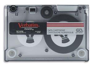 Verbatim 87981 , QIC 1/4 in. Data Cartridge, DC6250, 250MB