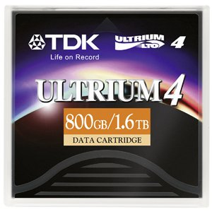 TDK D2407-LTO4 Tape Media,Data Cartridge, Ultrium4 800GB /1.6TB