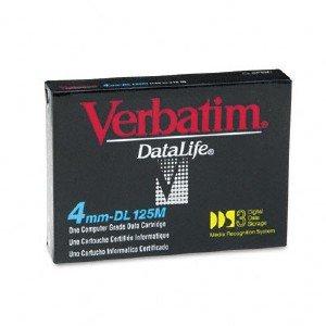 Verbatim 91688 -  4mm, DDS-3 Data Cartridge, 125m, 12/24GB