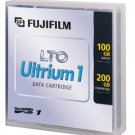 Fuji 26200011 - Data Tape Cartridge LTO, Ultrium-1, 100GB/200GB