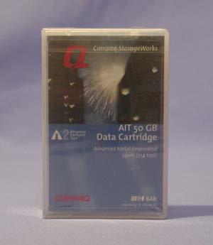 Compaq 152841 AIT-2 50/130GB 8mm Data Cartridge, Tape Media