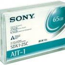 SONY SDX1-25C  AIT-1 Media Data Cartridge 25/65GB