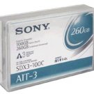 Sony SDX3-100C  Tape Media 260GB  230m Data cartridge
