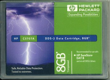 HP C5707A -  4mm, DDS-2 Data Cartridge, 120m, 4/8GB