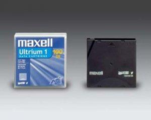 Maxell 183800 LTO-1 Data Cartridge Tape , Ultrium-1, 100/200GB