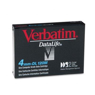 Verbatim 89547 -  4mm, DDS-2  Data Cartridge, 120m, 4/8GB