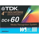 TDK DC4-60 -  4mm,  DDS-1 Data Cartridge, 60m, 1.3/2.6GB