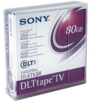 Sony DL4TK88 Tape DLT IV, TK88 40/80GB Data Cartridge