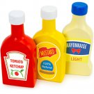 Backyard Barbecue Condiments Set