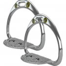 STS (Space Technology Safety) Race Stirrups Irons 95gm  #3286