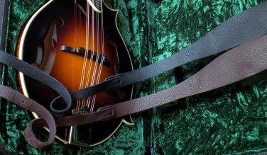 "Long Hollow Leather ""Softy"" mandolin Strap"