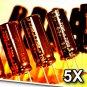 5 Pcs Panasonic FM 2200uF 6.3V Super Low ESR Radial Electrolytic Capacitors