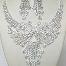 LAVISH RHINESTONE JEWELRY SET NKR688