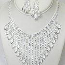 PAGEANT RHINESTONE JEWELRY SET NKR641
