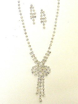 RHINESTONE NECKLACE NKR168