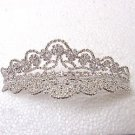 DOUBLE SIDED RHINESTONES TIARA COMB TIA252
