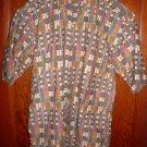 Izod Short Sleeve Shirt Size S Cotton