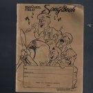 1943 Keesler Field Song Book Biloxi Morale Singing