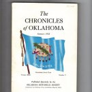 Summer 1952 Chronicles of Oklahoma Native Americans