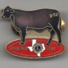 1982 Texas Delegate Phoenix Convention Lions Club Pin