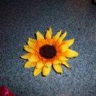 sunflower bow/clippie