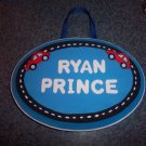 personalized name plaque