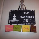 family personalized name plaque