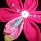 Hot Pink and Mini CupCake Kanzashi
