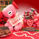 Puppy Love Valentines Gift Set