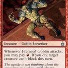 Playset Frenzied Goblin Ravnica Magic The Gathering