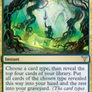 Playset Vigean Intuition Dissension Magic The Gathering