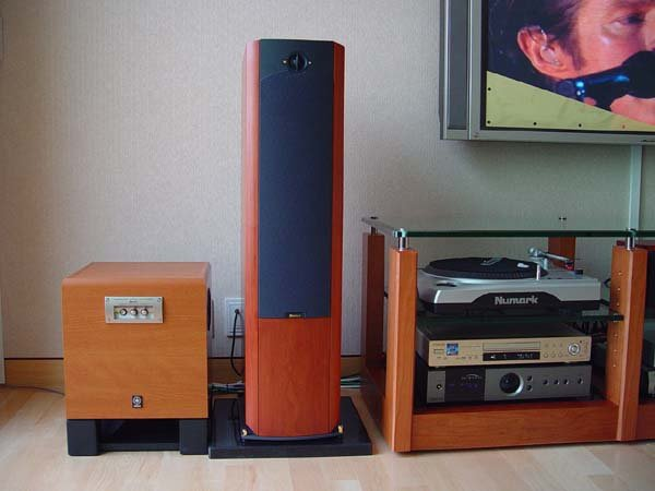 Boston Acoustics VRM90 Reference Monitor 3-Way, Floorstanding Speaker