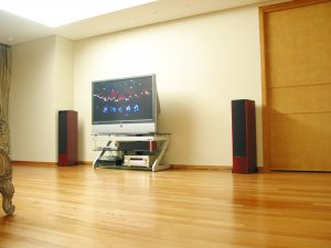 """Rs 57600 Boston Acoustics VR3 250 Watts 3 Way Dual 7"""" High Performance Reference Tower Speakers"""