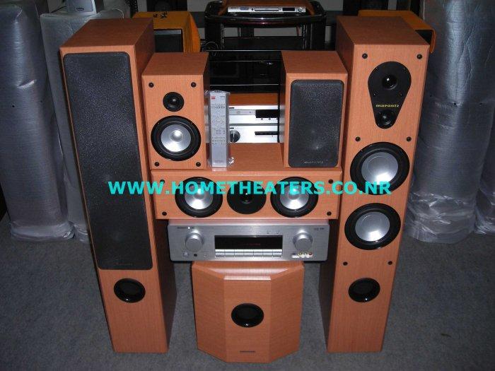 """Rs 59985 Marantz SR3001 7.1 AV Receiver Marantz LS6000 w/ 10"""" Subwoofer 5.1 Home Theatre Systems"""