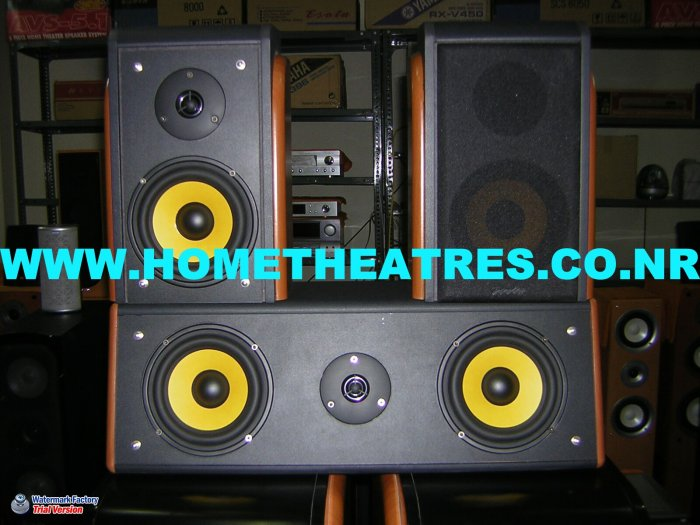 Rs 8600 Esota Center & Surround 3 Speaker Package(Clearance Sale)